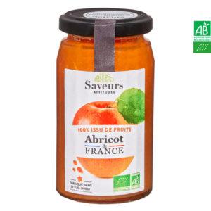 Confiture d'Abricot Bio de France 240gr Saveurs Attitudes