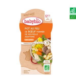 Pot au Feu de Bœuf d'Aquitaine Au Laurier 2*200g BabyBio