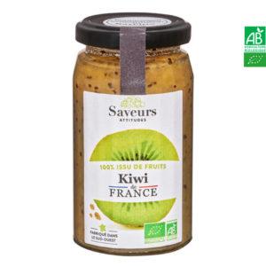 Confiture de Kiwi Bio 240gr Saveur Attitude