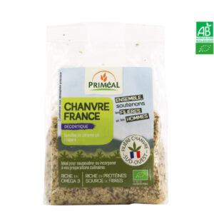 Graine de Chanvre décortiquées France 200g Priméal