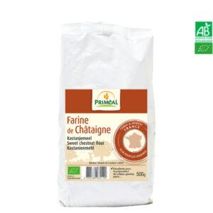 Farine de Châtaigne Bio France 500g Priméal
