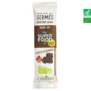 Barre de céréales germées Chocolat-Guarana 31g Germline