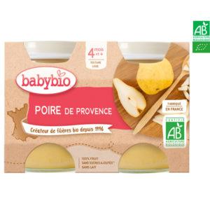 Poire de Provence 2x130g Babybio