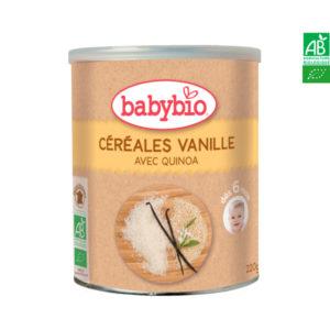 Céréales Vanille avec Quinoa 220g Babybio