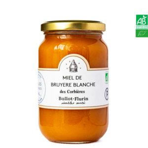 Miel de Bruyère Blanche des Corbières 480g Ballot-Flurin