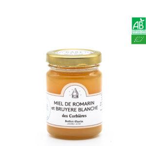 Miel de Romarin et Bruyère Blanche des Corbières 125g Ballot-Flurin