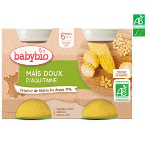 Maïs Doux D'Aquitaine 2x130g Babybio
