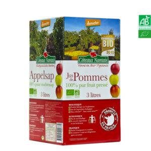 Jus de Pommes Bib 3l Côteaux Nantais