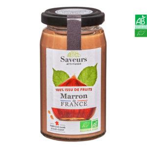 Confiture de Marron Bio France 240g Saveurs Attitudes