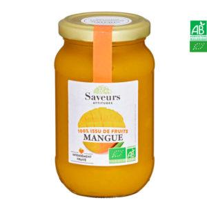 Confiture de Mangue Bio 310g Saveurs Attitudes