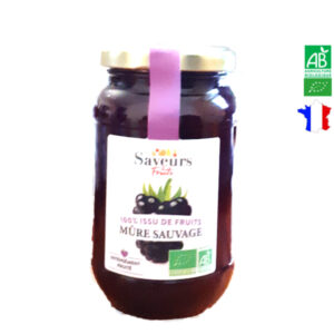 Confiture de Mûre Sauvage 310g Saveurs et Fruits