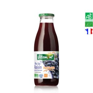 Jus de Raisins Rouges 75cl Lot & Garonne Vitamont