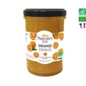 Confiture d'Orange Bio de France 250g Saveurs et Fruits