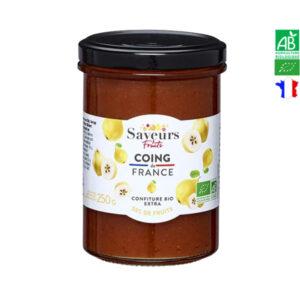 Confiture de Coing 250g Saveurs et Fruits