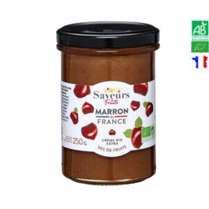 Confiture de Marron Bio France 250g Saveurs et Fruits