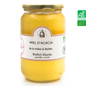 """Miel d'Acacia de la rivière la """"La Bresbre"""" 480g Ballot Flurin"""