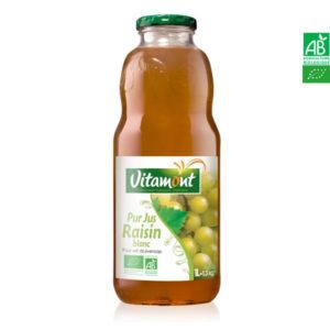 Jus de Raisins Blancs 1Lt Vitamont