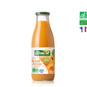 Nectar d'Abricot des Pyrénées Orientales Bio 75cl Vitamont