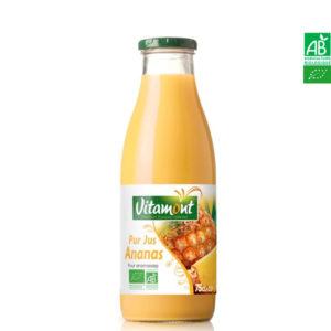 Pur Jus d'Ananas Bio Vitamont