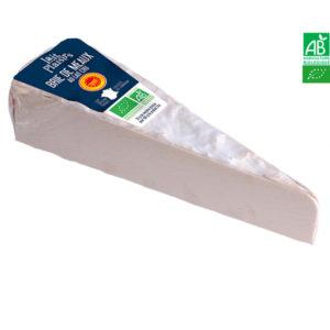 Brie de Meaux Bio AOP Au Lait Cru 170g Lait Plaisirs