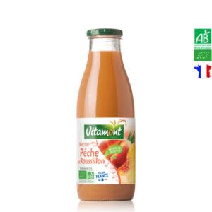 Nectar de Pêche Du Roussillon Bio 75cl Vitamont