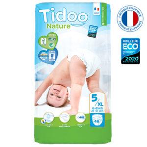 Couche Écologique Taille 5 12 à 25 kg 3×46 Tidoo