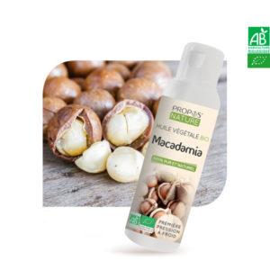 Huile Végétale Vierge de Macadamia Bio 100ml Propos Nature