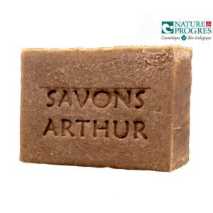 Savon à la Menthe Poivrée (peaux délicates) +/- 100g Savons Arthur