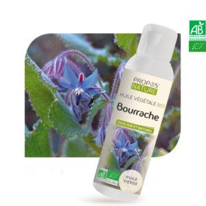 Huile Végétale Bio Bourrache 100ml Propos Nature