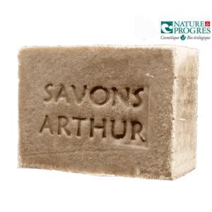 Savon et Shampoing aux orties (peaux atopiques) +/- 100g Savons Arthur