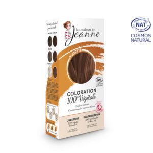 Coloration 100% Bio & Végétale Noisette Les Couleurs de Jeanne
