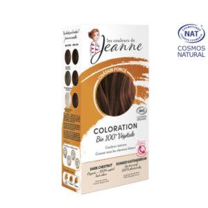 Coloration 100% Bio & Végétale Brun Les Couleurs de Jeanne