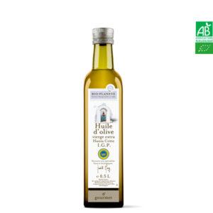 Huile d'Olive IGP Hania Crète Grèce 500ml Bio Planète