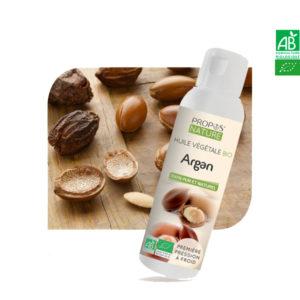 Huile Végétale Vierge Argan Bio 100ml Propos Nature