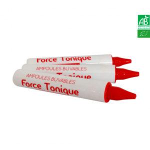 Force Tonique Bio 10 Ampoules de 10ml Propos Nature