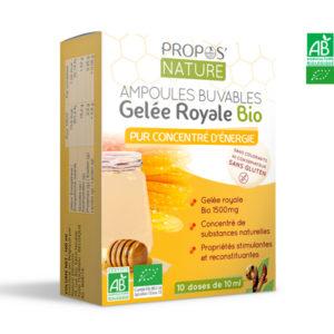Gelée Royale Bio 10 Ampoules de 10ml Propos Nature