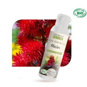 Huile Végétale Vierge de Ricin Bio 200ml Propos Nature