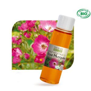Huile Végétale Vierge de Rose Musquée Bio 50ml Propos Nature