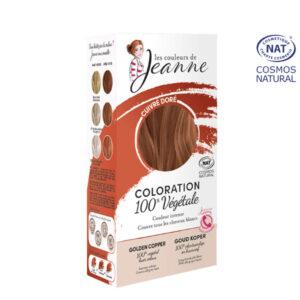Coloration 100% Bio & Végétale Cuivré Doré Les Couleurs de Jeanne