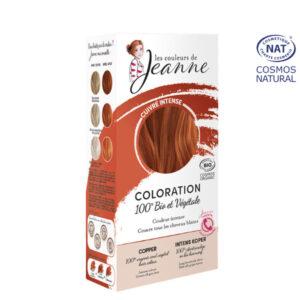 Coloration 100% Bio & Végétale Cuivré Intense Les Couleurs de Jeanne