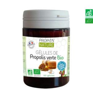 Gélules Propolis Verte Bio 60 /120 gélules Propos Nature