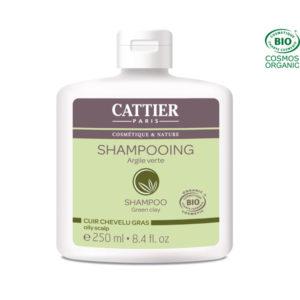 Shampooing Argile Verte 250ml Cattier Paris