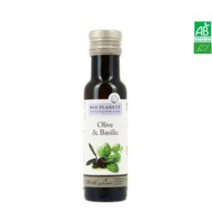 Huile d'Olive & Basilic 100ml Bio Planète