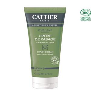 Crème de rasage 150ml Cattier Paris