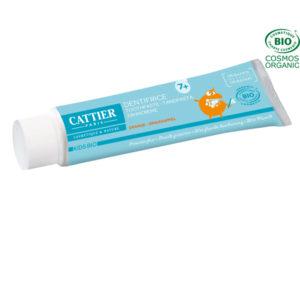 Dentifrice 7 ans et plus 50ml Cattier Paris Goût Orange – Protection Fluor