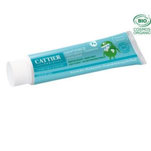 Dentifrice 7 ans et plus 50ml Cattier Paris Goût Menthe Douce – Protection Fluor