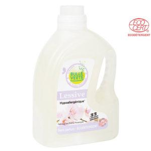 Lessive Hypoallergénique liquide 2L Bulle Verte