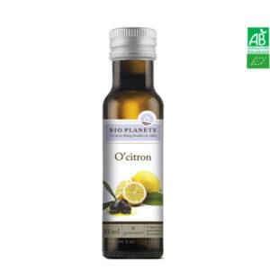 Huile d'Olive Au Citron 100ml Bio Planète