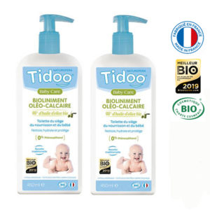 Bioliniment Oléo-Calcaire 450ml lot de 2 Tidoo