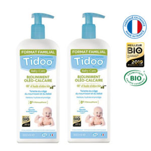 Bioliniment Oléo-Calcaire 900ml Lot de 2 Tidoo